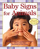 Book Cover Baby Signs for Animals (Baby Signs (Harperfestival))