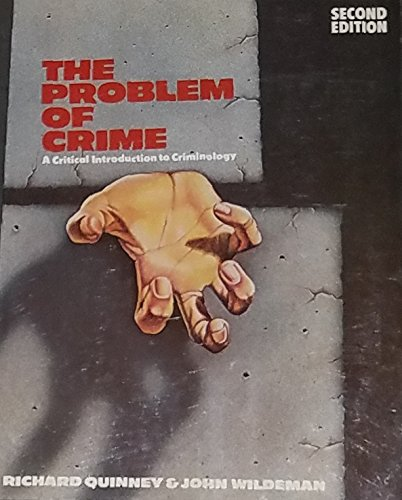 Book Cover Problem of Crime: Critical Introduction to Criminology