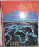 Book Cover International Business: Environments, Institutions, and Operations