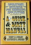 Book Cover Operations Research for Immediate Application: A Quick and Dirty Manual