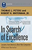Book Cover In Search of Excellence: Lessons from America's Best-Run Companies