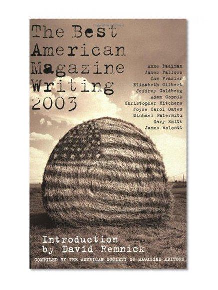 Book Cover The Best American Magazine Writing 2003