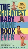 Book Cover Greatest Baby Name Book Ever Rev Ed, The