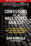 Book Cover Confessions of a Wall Street Analyst: A True Story of Inside Information and Corruption in the Stock Market