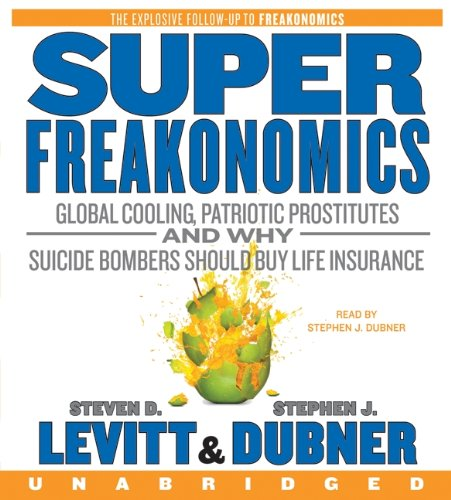 Book Cover SuperFreakonomics CD
