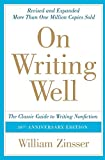Book Cover On Writing Well: The Classic Guide to Writing Nonfiction