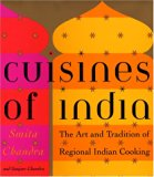Book Cover Cuisines of India: The Art and Tradition of Regional Indian Cooking