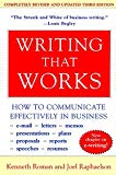 Book Cover Writing That Works; How to Communicate Effectively In Business