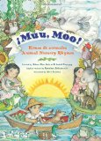 Book Cover Muu, Moo!: Rimas de animales/Animal Nursery Rhymes (Spanish Edition)