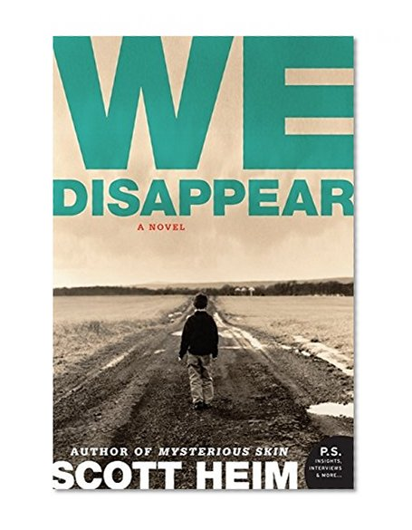 Book Cover We Disappear: A Novel