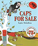 Book Cover Caps for Sale Board Book: A Tale of a Peddler, Some Monkeys and Their Monkey Business (Reading Rainbow Books)