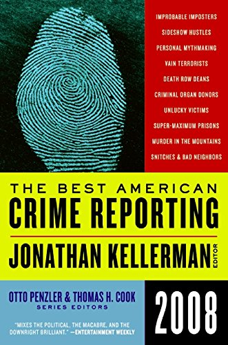 Book Cover The Best American Crime Reporting 2008