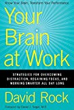Book Cover Your Brain at Work: Strategies for Overcoming Distraction, Regaining Focus, and Working Smarter All Day Long