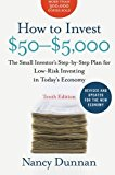 Book Cover How to Invest $50-$5,000 10e: The Small Investor's Step-by-Step Plan for Low-Risk Investing in Today's Economy (How to Invest $50 to $5000)