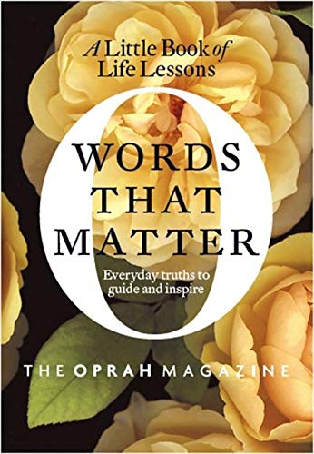 Book Cover Words That Matter: A Little Book of Life Lessons