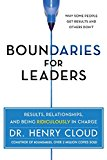 Book Cover Boundaries for Leaders: Results, Relationships, and Being Ridiculously in Charge