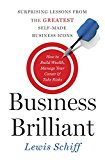 Book Cover Business Brilliant: Surprising Lessons from the Greatest Self-Made Business Icons