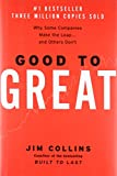 Book Cover Good to Great: Why Some Companies Make the Leap and Others Don't