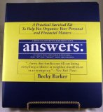 Book Cover Answers: A Practical Survival Kit To Help You Organize Your Personal and Financial Matters