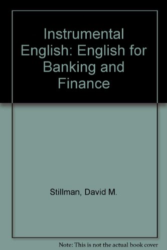Book Cover Instrumental English: English for Banking and Finance