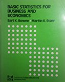Book Cover Basic Statistics for Business and Economics (McGraw-Hill series in quantitative methods for management)