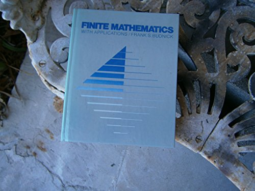 Book Cover Finite Mathematics: With Applications