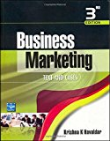 Book Cover Business Marketing: Text & Cases