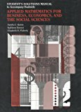 Book Cover Budnick's Applied Mathematics for Business, Economics and Social Sciences