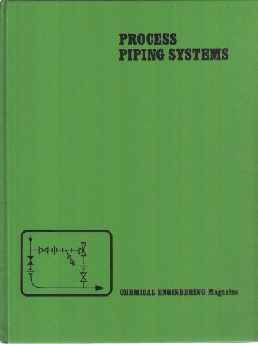 Book Cover Process Piping Systems (Chemical Engineering)