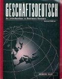 Book Cover Geschaftsdeutsch: An Introduction to Business German