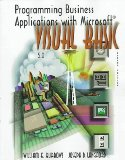 Book Cover Programming Business Applications With Microsoft Visual Basic 5.0