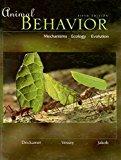 Book Cover Animal Behavior: Mechanisms, Ecology, Evolution