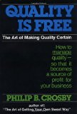 Book Cover Quality Is Free: The Art of Making Quality Certain: How to Manage Quality - So That It Becomes A Source of Profit for Your Business