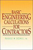 Book Cover Basic Engineering Calculations for Contractors