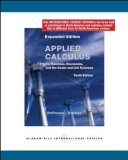 Book Cover Applied Calculus for Business, Economics, and the Social and Life Sciences.
