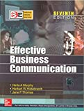 Book Cover Effective Business Communication (sie)