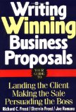 Book Cover Writing Winning Business Proposals: Your Guide to Landing the Client,  Making the Sale,  Persuading the Boss