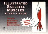 Book Cover Illustrated Skeletal and Muscle Flash Cards