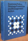 Book Cover Business Policy: Strategy Formation and Executive Action (McGraw-Hill series in management)