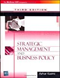 Book Cover Strategic Management & Business Policy