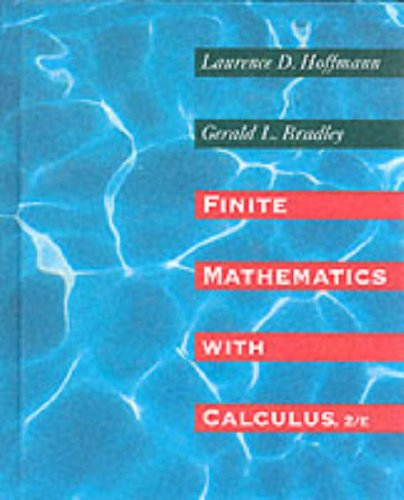 Book Cover Finite Mathematics With Calculus