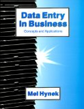 Book Cover Data Entry in Business: Concepts and Applications
