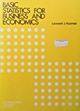 Book Cover Basic Statistics for Business and Economics: Instructor's Manual