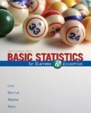 Book Cover Basic Statistics for Business & Economics Fourth Canadian Edition