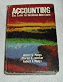 Book Cover Accounting, the basis for business decisions