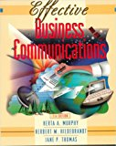 Book Cover Effective Business Communications