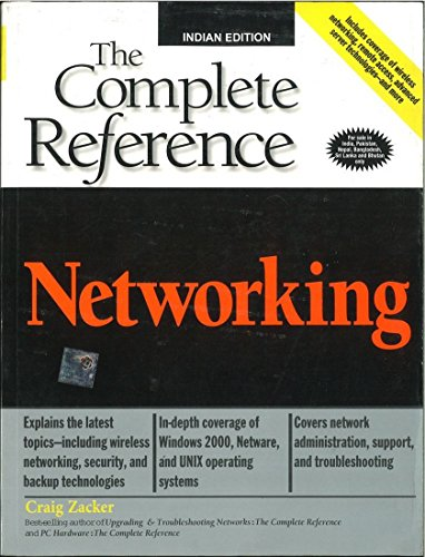 Book Cover Networking: The Complete Reference