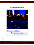 Book Cover Business Data Communications