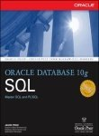 Book Cover Oracle Database 10g SQL