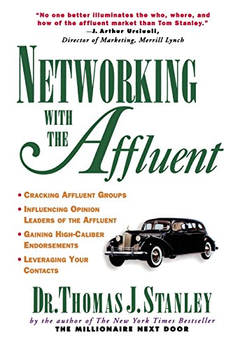 Book Cover Networking with the Affluent
